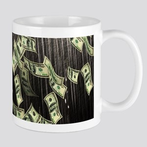 Raining Cash Money Mugs